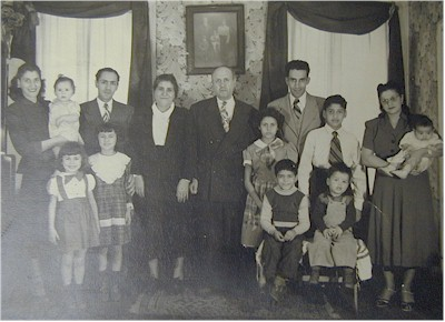 John Bethoney, Joseph Bethoney and Ron Bethoney (From middle on to the right, 2nd, 3rd and 4th Generations)